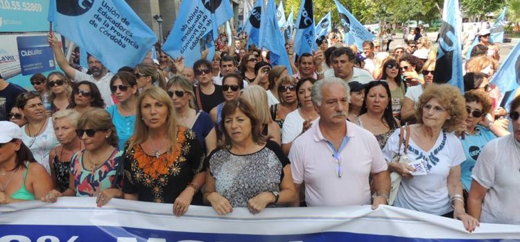 Salarios docentes: El gobierno citó a la UEPC para esta tarde