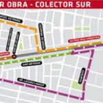 Cortes de tránsito en avenida Cruz Roja por la obra de cloacas