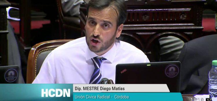 """PASO 2017 / Diego Mestre: """"Es bueno que el gobierno baje Ingresos Brutos a los créditos"""""""