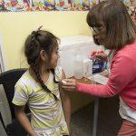 Campaña de vacunación para chicos en las salas Cuna