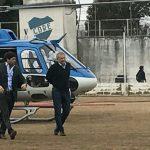 El helicóptero oficial que usó Baldassi para viajar a una inauguración calienta la campaña