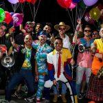 Diez años del Buen Pastor: Los Caligaris con auriculares
