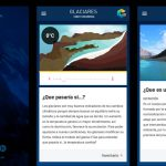 Los glaciares argentinos en una app