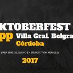Crearon una app para la fiesta de la Cerveza de Villa General Belgrano