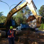 Anunciaron nuevos cortes en la avenida Valparaiso por las obras de cloacas
