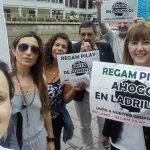 Aumento abusivo de cuotas: nueva protesta de adjudicatarios de Regam Pilay