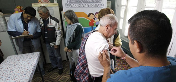 Vacunación en la ciudad de Córdoba