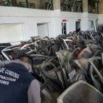 Megasecuestro de autopartes en Morteros: más de 500 vehículos desarmados