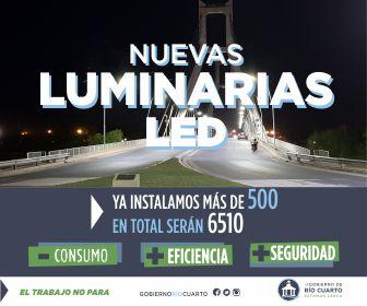 Luminarias Río Cuarto