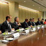 El gobernador Schiaretti se alineó con el presidente para tentar inversores en Estados Unidos