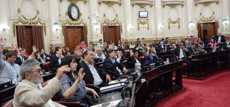 La Legislatura aprobó un proyecto de la izquierda que rechaza el protocolo de Bullrich