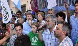 Los sindicatos cordobeses se manifestaron frente al ANSES