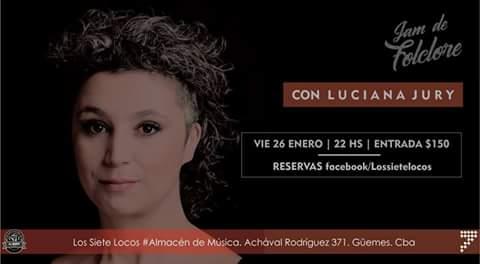 La Jam De Folclore con Luciana Jury