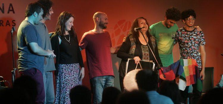 La Jam de Folclore en Cosquín como invitado de Melania Pérez