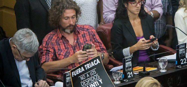"""La izquierda denuncia que el gobierno """"busca fragmentar EPEC para privatizarla"""""""