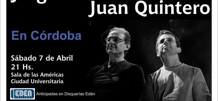 Ganá entradas para ver a Jorge Fandermole y Juan Quintero
