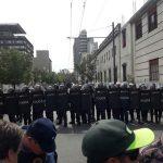EPEC rodeada… de policías