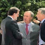 Cinco minutos con Rajoy: Schiaretti le agradeció el financiamiento para escuelas y hospitales