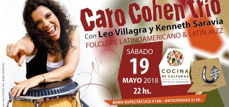 Ganá entradas para Carolina CohenTrío