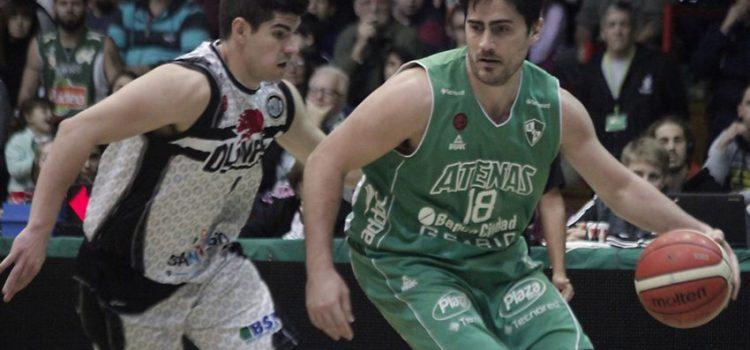 Sigue con vida: Atenas le ganó a Olímpico en el Cerutti y se clasificó a Cuartos de Final