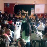 En la audiencia pública, el oficialismo con 3 e-mails inscribió 70 personas para que apoyen la Autovía de Punilla