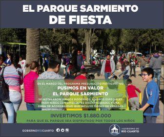 Municipalidad de Río Cuarto-Parque Sarmiento