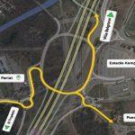 Circunvalación: se habilitó completamente la rotonda frente al estadio Kempes