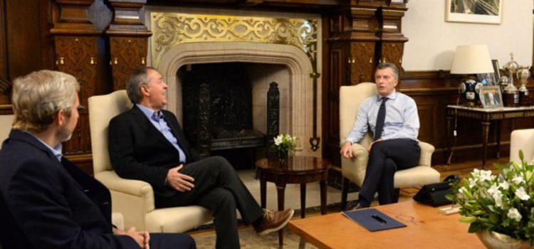 Schiaretti le pidió al presidente Macri provincializar Aysa, Edenor y Edesur