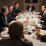 Los radicales cenaron el menú que preparó Juliana Awada y le dieron el OK al ajuste del FMI y a un pacto con el PJ