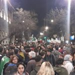 Una multitud marchó por el centro de Córdoba para rechazar el cambio de rol de los militares impuesto por Macri