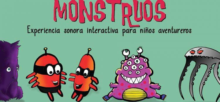 "Ganá entradas para ""MONSTRUOS. Experiencia sonora interactiva  para niños aventureros"""