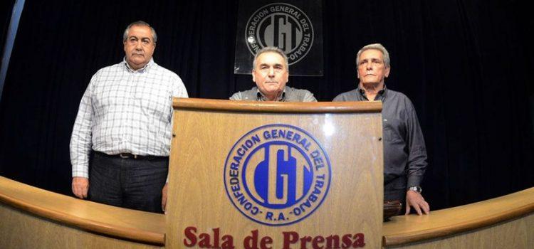 La CGT le reclamó al presidente no pensar en la reelección, sino en llegar a diciembre de 2019