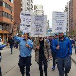 La protesta en Córdoba