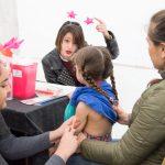 Vacunarán contra el sarampión este fin de semana
