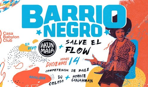 Sorteo para Barrio Negro