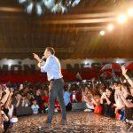 """Mestre lanzó su campaña y dijo que hay """"corrupción"""" en el gobierno de Schiaretti"""