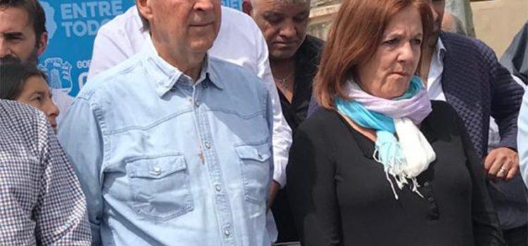 Los gestos y las elecciones: Juan Schiaretti y Ramón Mestre se cruzaron en Villa Libertador