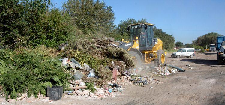 Conflicto entre Municipalidad y Provincia por limpieza y cuidado de basurales