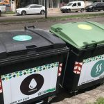 Contenedores para residuos en el Centro y barrio General Paz