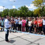 Fue inaugurada la sistematización vial de Richieri y Cruz Roja