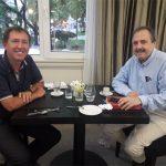 """Rossi con Alfonsín: """"Al Gobierno le falta sensibilidad y muchos radicales son cómplices"""""""