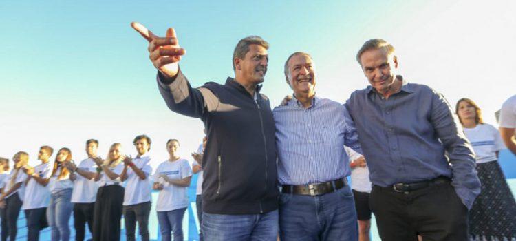 La tesis de la unidad peronista desinfló el lanzamiento de Massa, Schiaretti y Pichetto en Mar del Plata