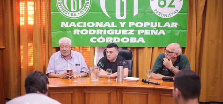 La CGT Rodríguez Peña participará de la marcha del 24 y del paro nacional del 4 de abril