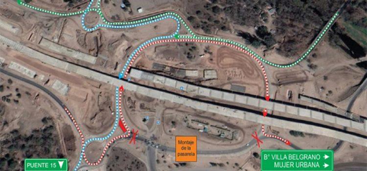 Circunvalación: desvío de tránsito en inmediaciones al Kempes