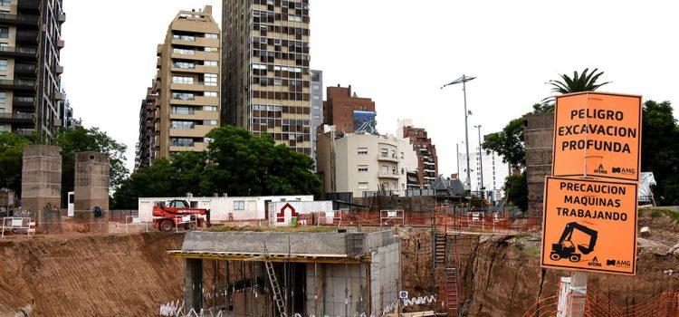 Avanzan las obras en Plaza España