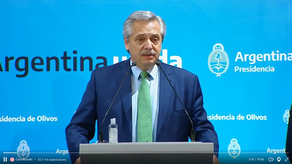 El presidente Alberto Fernández anunció una cuarentena obligatoria desde el  viernes hasta el 31 de marzo - ENREDACCIÓN - Córdoba - Argentina